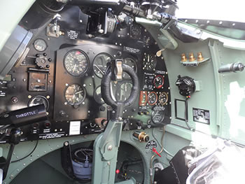 Reno Air Races Plane Cockpit graphic.